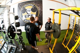 Stephen Yale training clients at EPE Training Systems